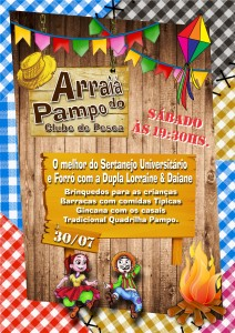 Cartaz Festa Junina 2016 2